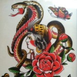 Flash Art - Village Tattoo Romeo MI - Garth Hixon (4)