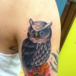Owl Tattoo Village Tattoo Romeo Garth Hixon