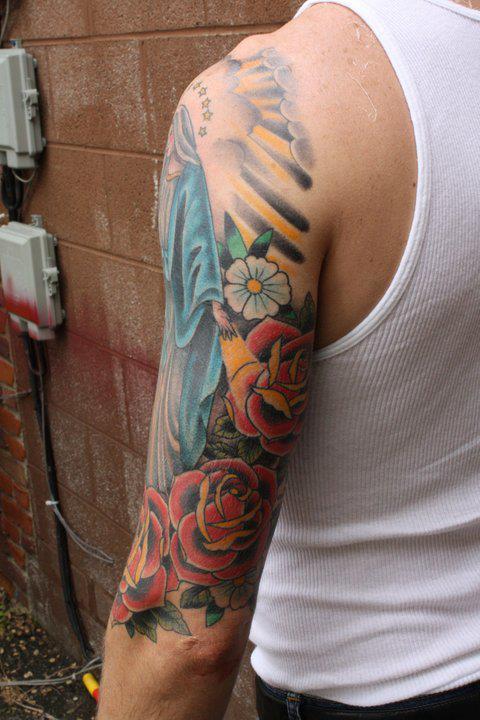 Tattoo gallery portfolio village tattoo in downtown for Best tattoo artists in michigan